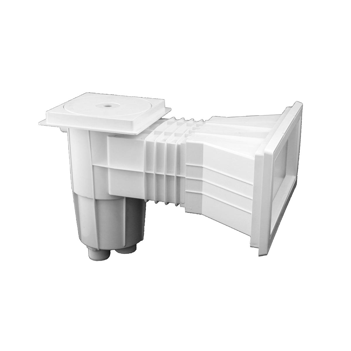 Smart Breitmaulskimmer für Polyester- und Folienpools ABS, weiß Smart Breitmaulskimmer für Polyester- und Folienpools ABS, weiß