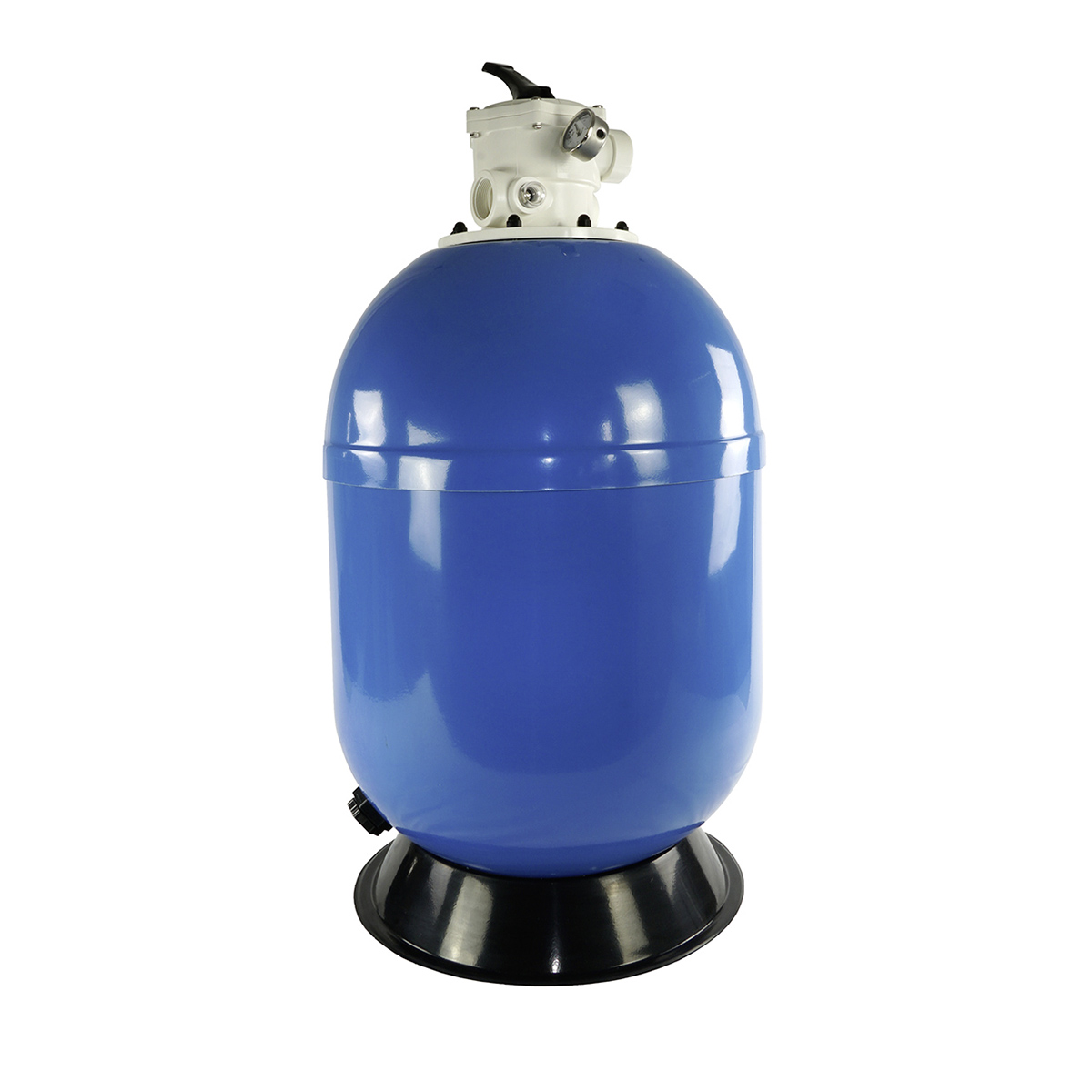 "Polyester Filter VIENNA II, laminiert, top mount, blau, d400, inkl. Manometer, Klemmring und original Praher TM 1 1/2"" 7 Wege Rückspülventil manuell Polyester Filter VIENNA II, laminiert, top mount, blau, d400, inkl. Manometer, Klemmring und original Praher TM 1 1/2"" 7 Wege Rückspülventil manuell"