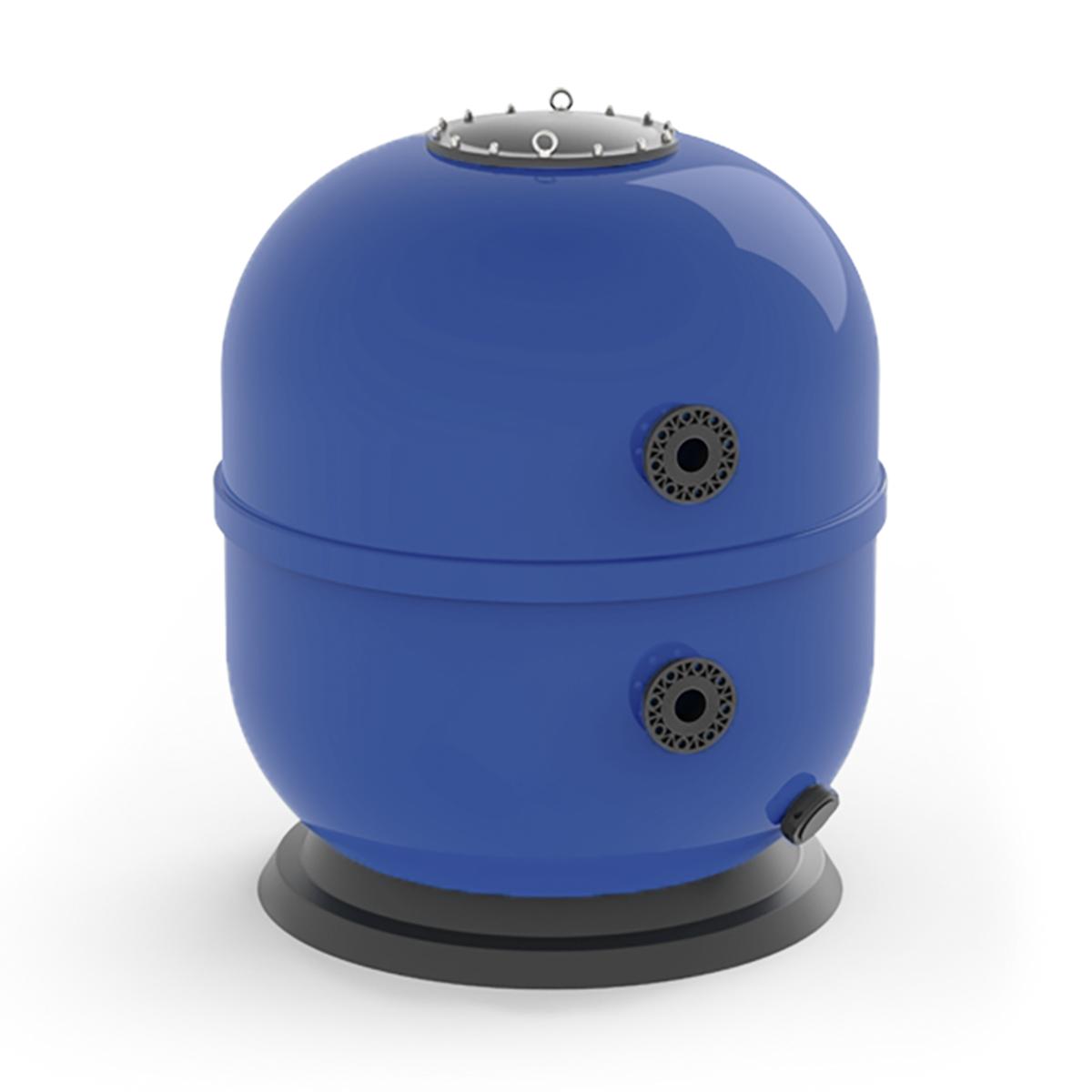 "Smart Polyester Filter laminiert, side mount, blau d1050, GFK Deckel 400 mm schwarz, Ablass d75 mm inkl. 1"" Entleerungsstopfen, Filtermediumhöhe 1000 mm, PVC Flanschanschluss d90 mm Smart Polyester Filter laminiert, side mount, blau d1050, GFK Deckel 400 mm schwarz, Ablass d75 mm inkl. 1"" Entleerungsstopfen, Filtermediumhöhe 1000 mm, PVC Flanschanschluss d90 mm"