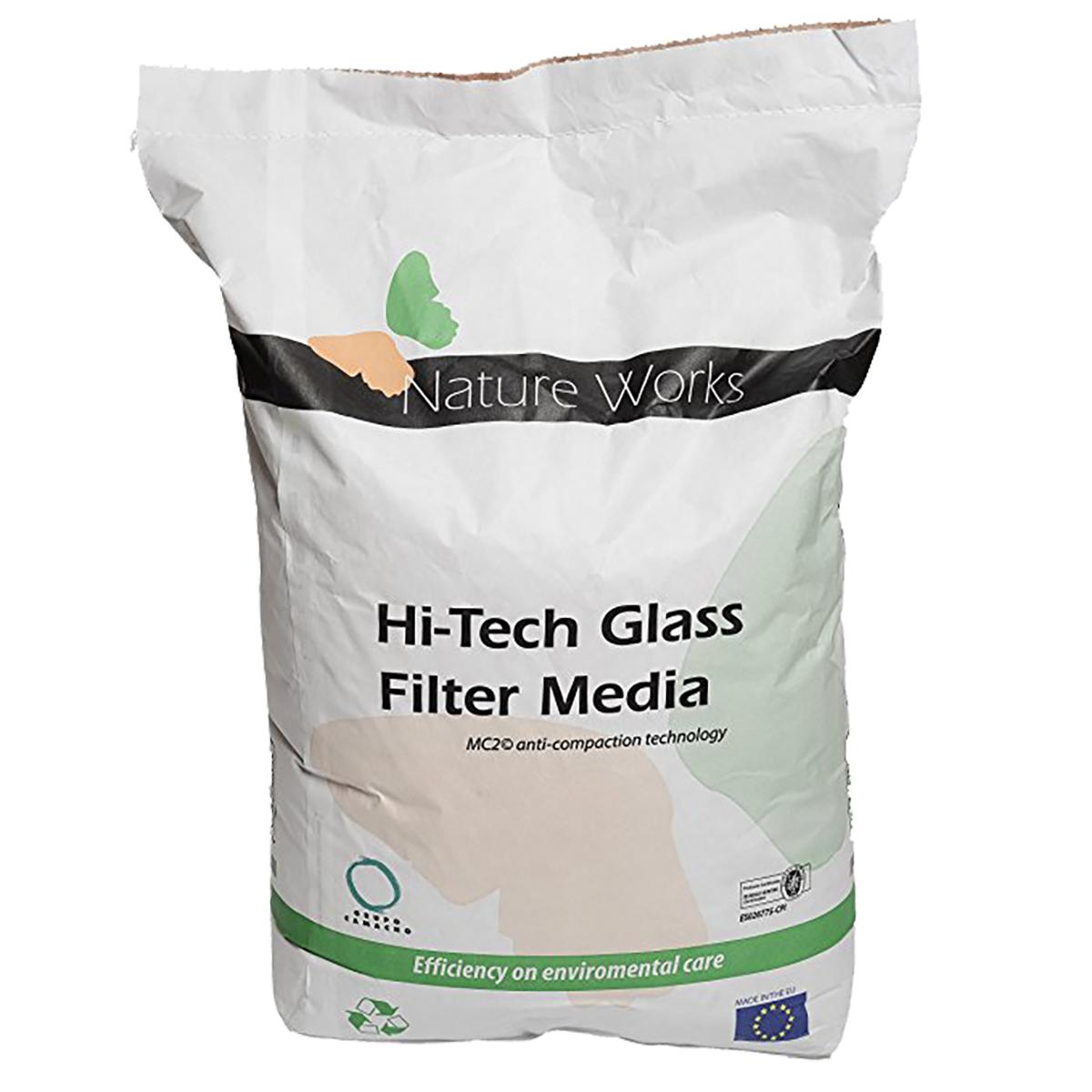 Smart Nature Works Hi-Tech Filter Media, packing unit =20 kg bag Smart Nature Works Hi-Tech Filter Media, packing unit =20 kg bag