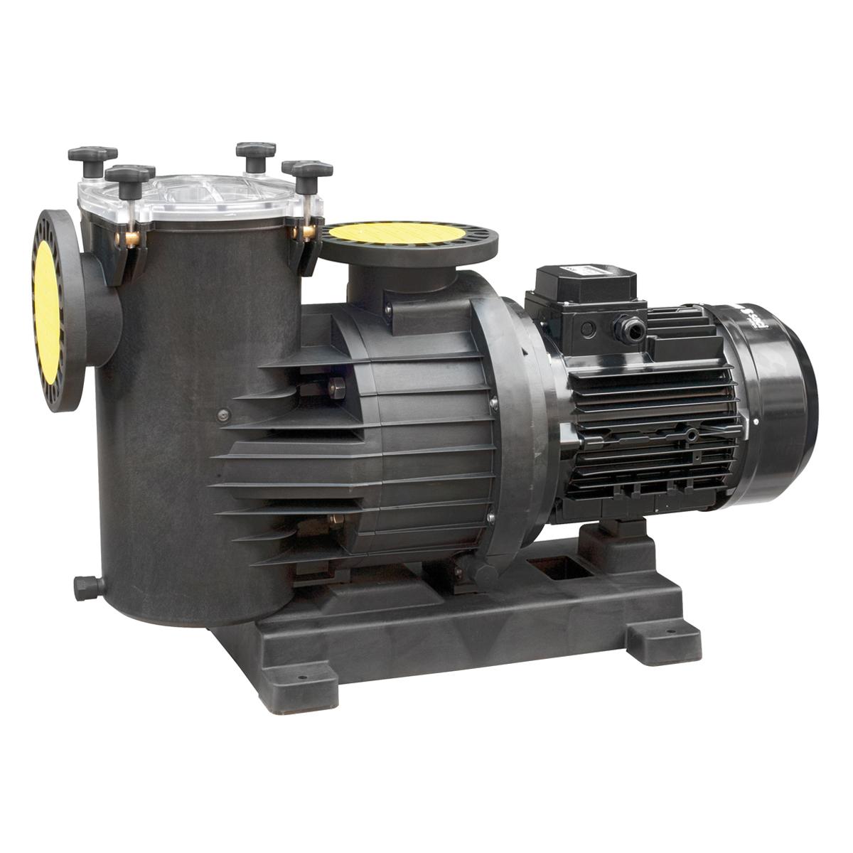 Smart Power Filterpumpe 300 230-400V, 1450 U/min 2,2 kW, 3 HP, 43 m³/h bei 10m Smart Power Filterpumpe 300 230-400V, 1450 U/min 2,2 kW, 3 HP, 43 m³/h bei 10m