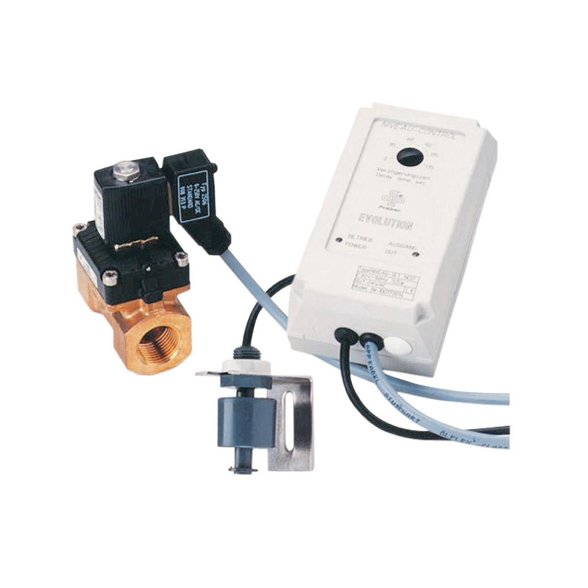 Niveau-Set NC01 mit Magnetventil, 230VAC Niveau-Set NC01 mit Magnetventil, 230VAC