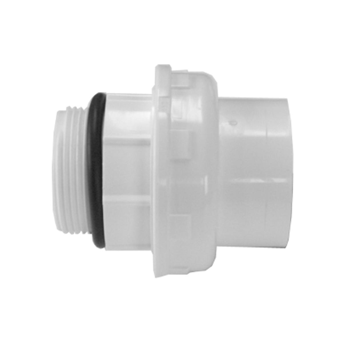 """Verschraubung Ocean PVC grau Klebemuffe d/Aussengewinde d50-1 1/2"""" BSP EPDM Verschraubung Ocean PVC grau Klebemuffe d/Aussengewinde d50-1 1/2"""" BSP EPDM"""