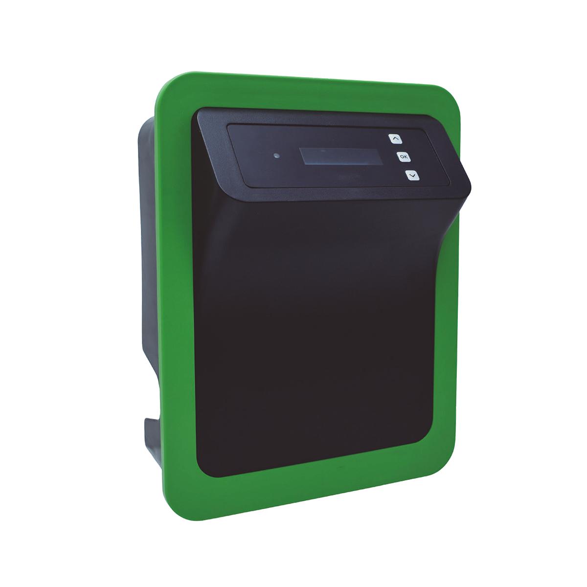 Smart Salzelektrolyseanlage ECO 10g Cl/h selbstreinigende Zelle für private Pools bis 25m3 (Pumpenlaufzeit 8h) Smart Salzelektrolyseanlage ECO 10g Cl/h selbstreinigende Zelle für private Pools bis 25m3 (Pumpenlaufzeit 8h)