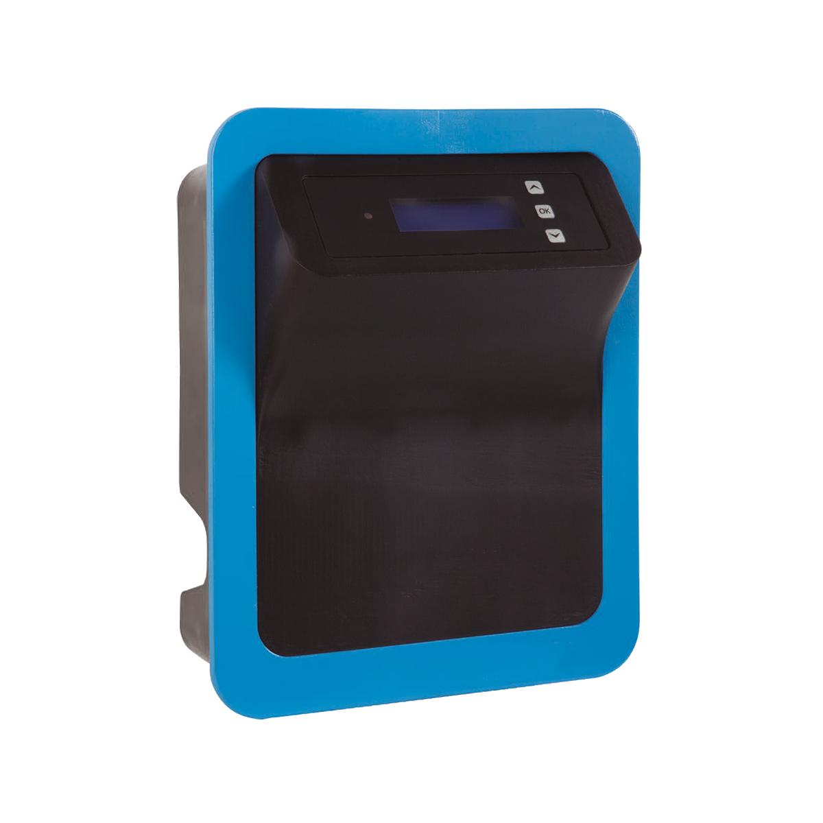 Smart Salzelektrolyseanlage ADVANCED-PRO MAGNESIUM 15g Mg/h selbstreinigende Zelle für private Pools bis 50m3, (Pumpenlaufzeit 8h) Smart Salzelektrolyseanlage ADVANCED-PRO MAGNESIUM 15g Mg/h selbstreinigende Zelle für private Pools bis 50m3, (Pumpenlaufzeit 8h)