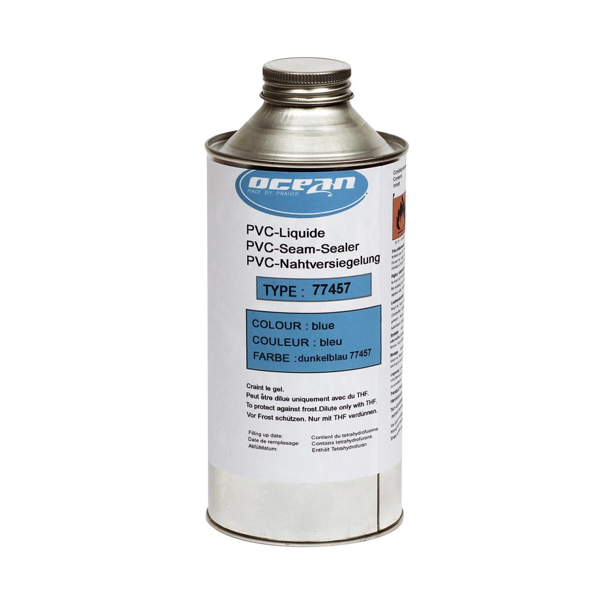Flüssig-PVC Nahtversiegelung adriablau Flüssig-PVC Nahtversiegelung adriablau