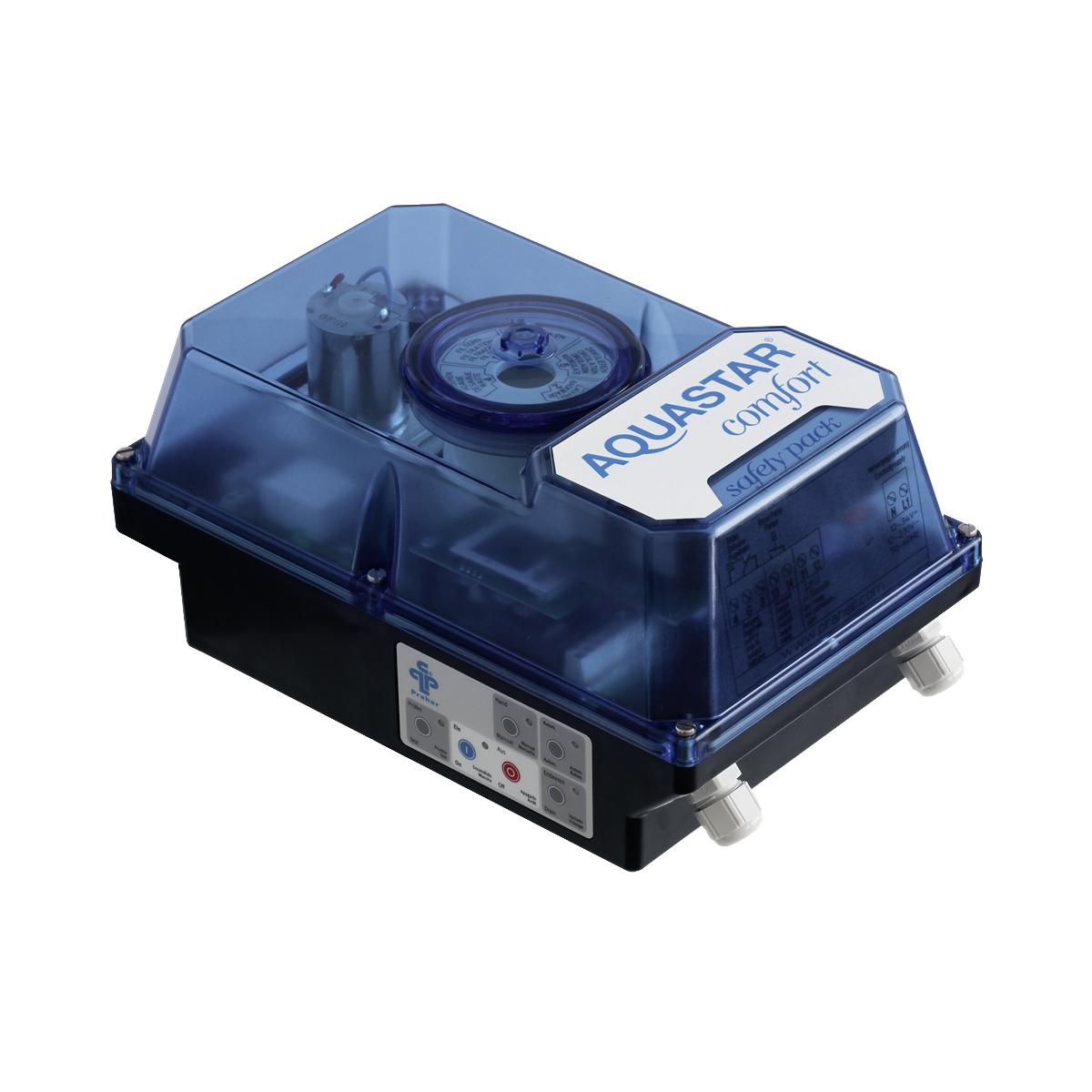 """AquaStar Comfort 4001-230 für Ocean V6 ND 1 1/2"""" + 2"""" 100-240 VAC SafetyPack, Zeit-Schalter + Druck-Schalter AquaStar Comfort 4001-230 für Ocean V6 ND 1 1/2"""" + 2"""" 100-240 VAC SafetyPack, Zeit-Schalter + Druck-Schalter"""