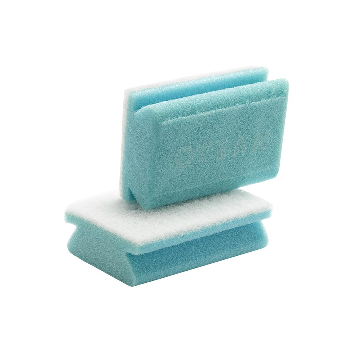 Handschrubber Ocean blau, im Doppelpack, lose verpackt Handschrubber Ocean blau, im Doppelpack, lose verpackt