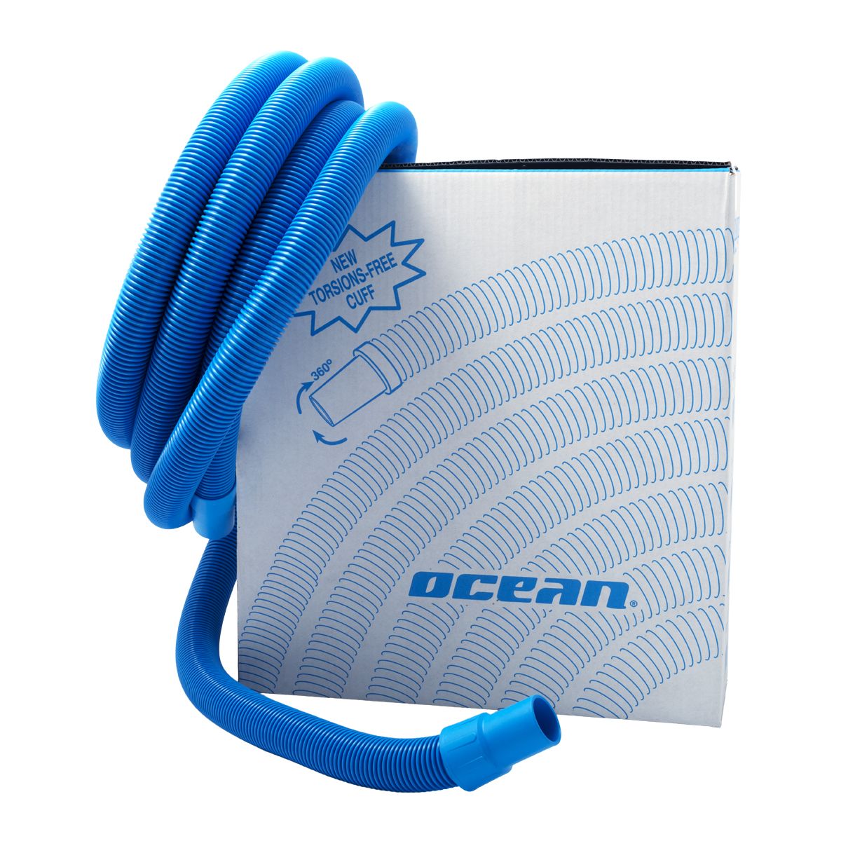 Swimming Pool Hose Ocean with elastic socket d=38mm blue l=12 m Swimming Pool Hose Ocean with elastic socket d=38mm blue l=12 m