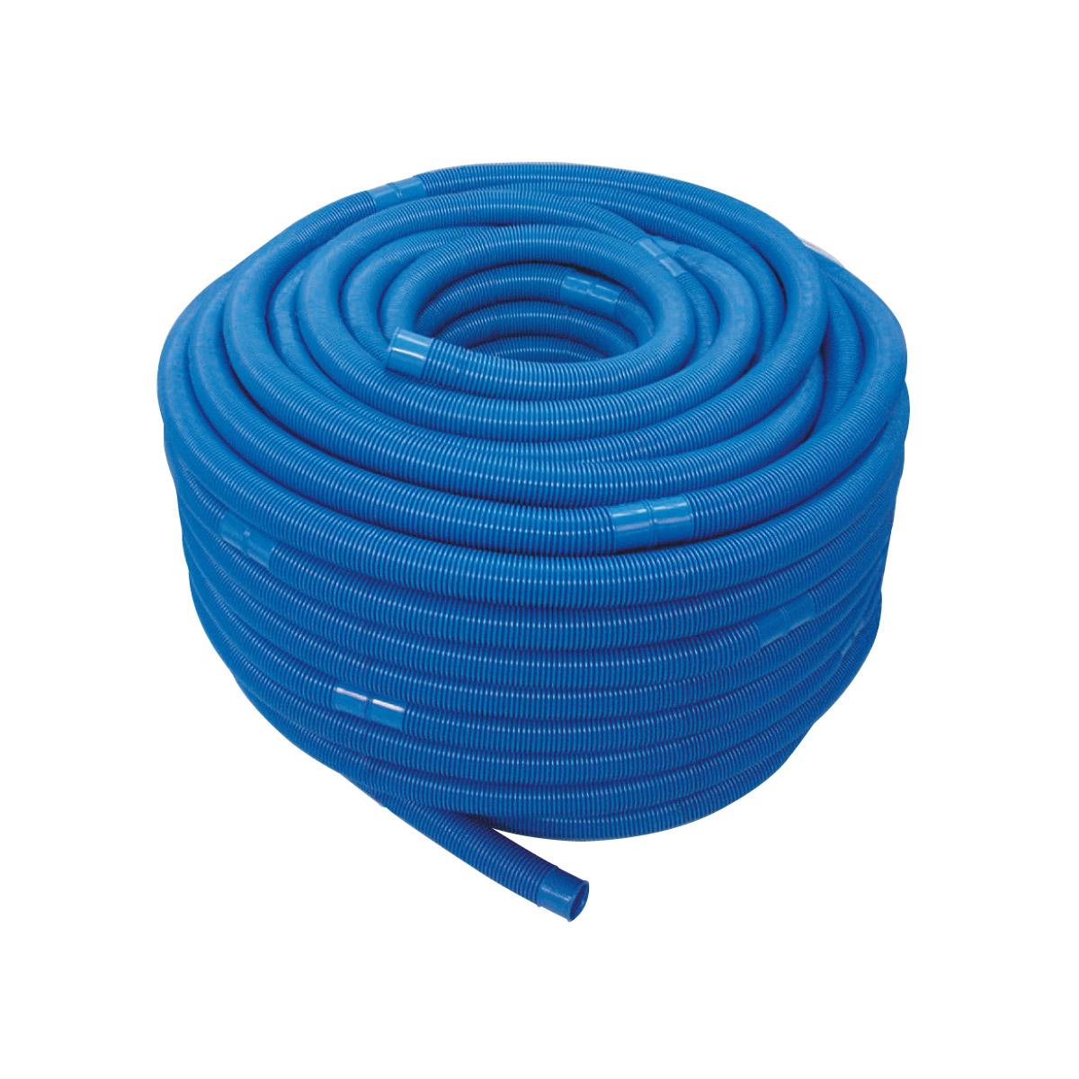 Schwimmbadschlauch ECO Muffenabstand 1,5 m d38 PE weiss l=100 m einzeln verpackt Schwimmbadschlauch ECO Muffenabstand 1,5 m d38 PE weiss l=100 m einzeln verpackt