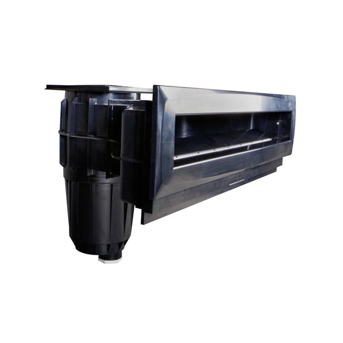 Hochwasserstandskimmer High75 schwarz  ABS mit Messingbuchsen Hochwasserstandskimmer High75 schwarz  ABS mit Messingbuchsen