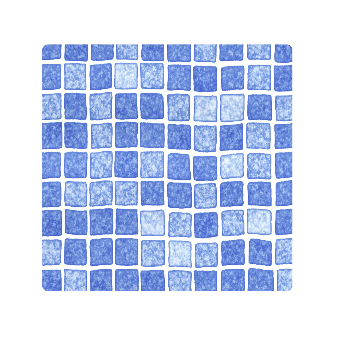 ACRYL swimming pool liner deluxe fabric reinforced PVC 165 mm MOSAIC  azure blue ACRYL swimming pool liner deluxe fabric reinforced PVC 165 mm MOSAIC  azure blue