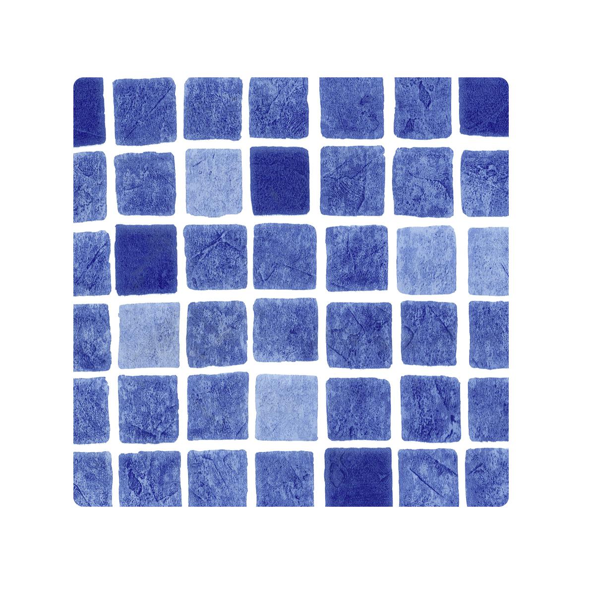 Acryl Schwimmbadfolie deluxe, gewebeverstärkt PVC 1,5 x 165, cm l=25m Rolle bedruckt Mosaikdesign, oceanblau Acryl Schwimmbadfolie deluxe, gewebeverstärkt PVC 1,5 x 165, cm l=25m Rolle bedruckt Mosaikdesign, oceanblau