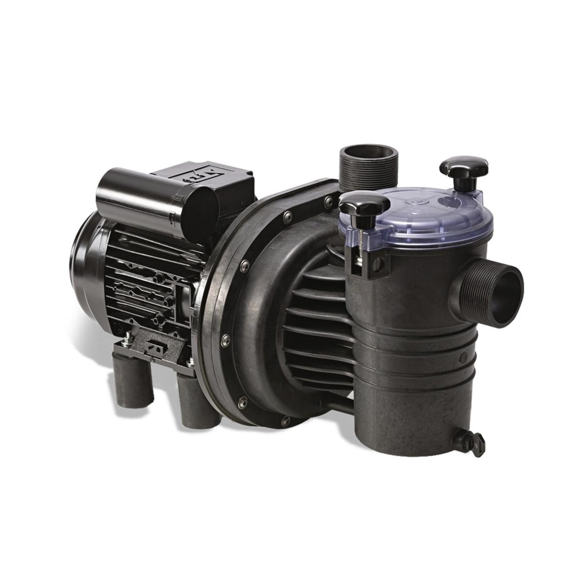 """Smart EO11-1 Schwimmbadpumpe, Fördermenge 11 m3/h bei 8 m Wassersäule, Förderhöhe max. 15 m, Motorleistung P2 0,55 kW, 230V, einphasig, IP55, Anschluss 2"""", für Pools bis zu 60 m3 Smart EO11-1 Schwimmbadpumpe, Fördermenge 11 m3/h bei 8 m Wassersäule, Förderhöhe max. 15 m, Motorleistung P2 0,55 kW, 230V, einphasig, IP55, Anschluss 2"""", für Pools bis zu 60 m3"""