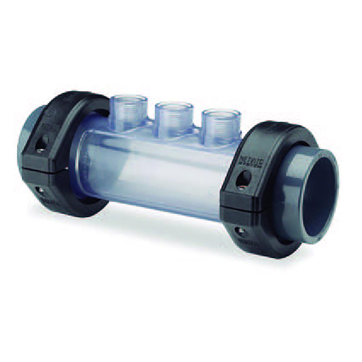 Transparente Elektrodenhalterung d50 inkl. 1x Verschlusstopfen und O-Ring Transparente Elektrodenhalterung d50 inkl. 1x Verschlusstopfen und O-Ring